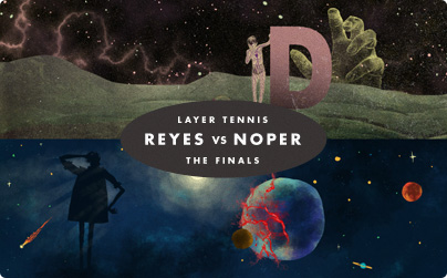 Layer Tennis Finals: Mig Reyes vs. Noper